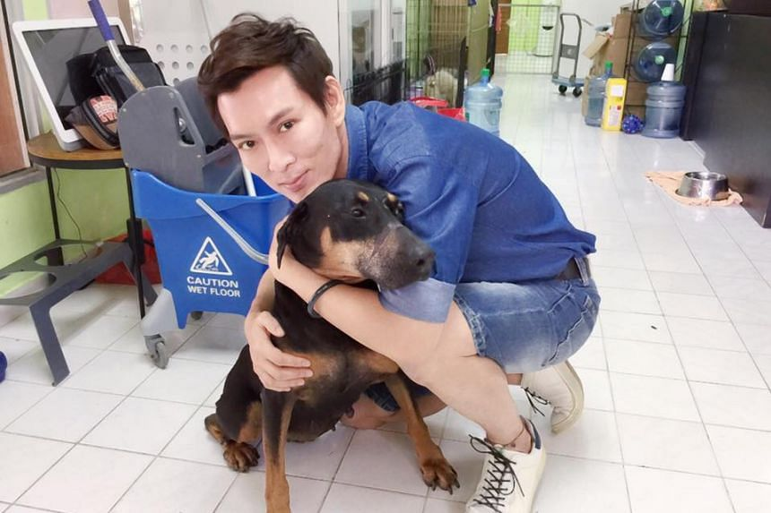 Andrew Seow and his friend allegedly received threats via Facebook messages after highlighting a sale of dog meat to the AVA.