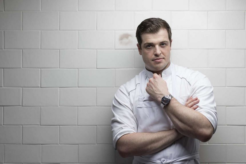 Chef Luke Armstrong, head chef at The Kitchen at Bacchanalia. He has an impressive portfolio of ten years' experience working in the kitchens of award-winning restaurants in the UK and The Netherlands, including Pied a Terre in London (one Michelin