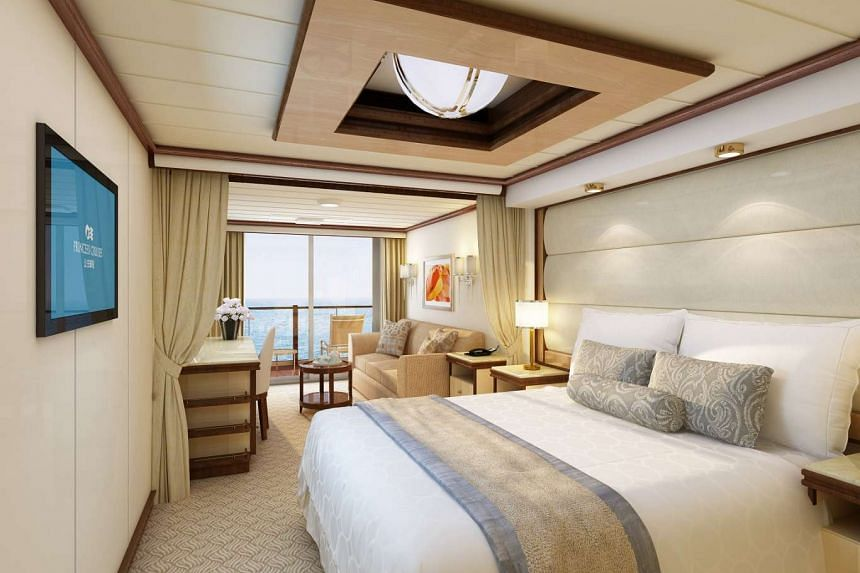Majestic Princess boasts signature elements from Royal Class Ships, such as the new luxury beds in the ship's Mini Suite.
