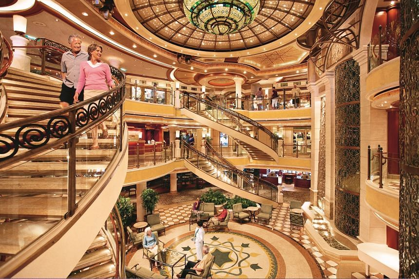 Relax amid the luxurious surrounds of the Majestic Princess.