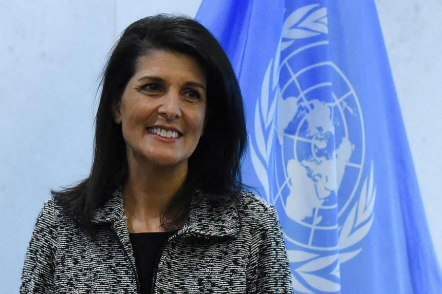 "UN envoy Nikki Haley sought to assure the world on Thursday (Feb 16) that the Trump administration supports Palestinian statehood but wants a ""thinking out of the box"" approach."
