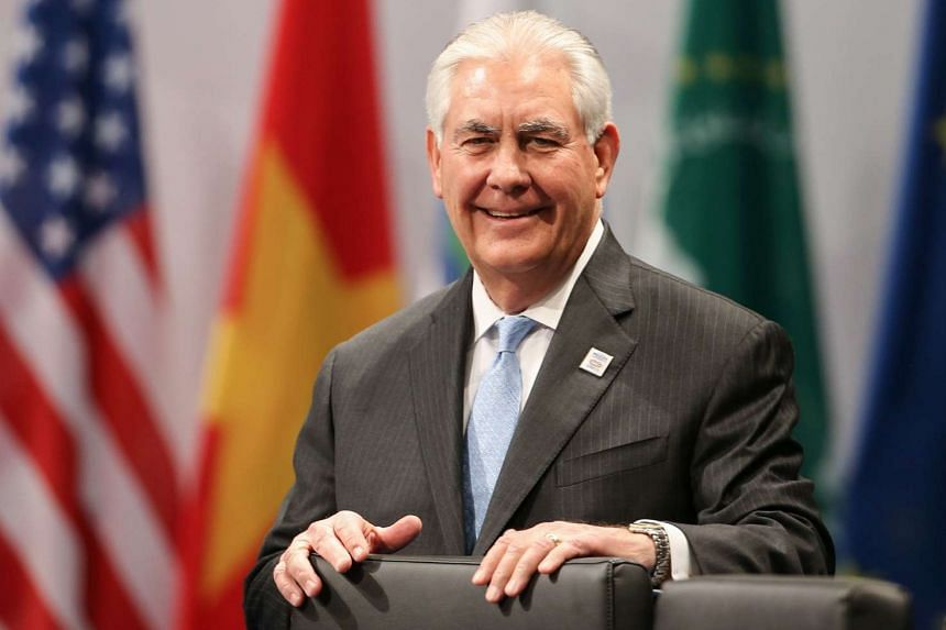US Secretary of State Rex Tillerson attends the G-20 Foreign Ministers Meeting, Feb 16, 2017, in Bonn, Germany.