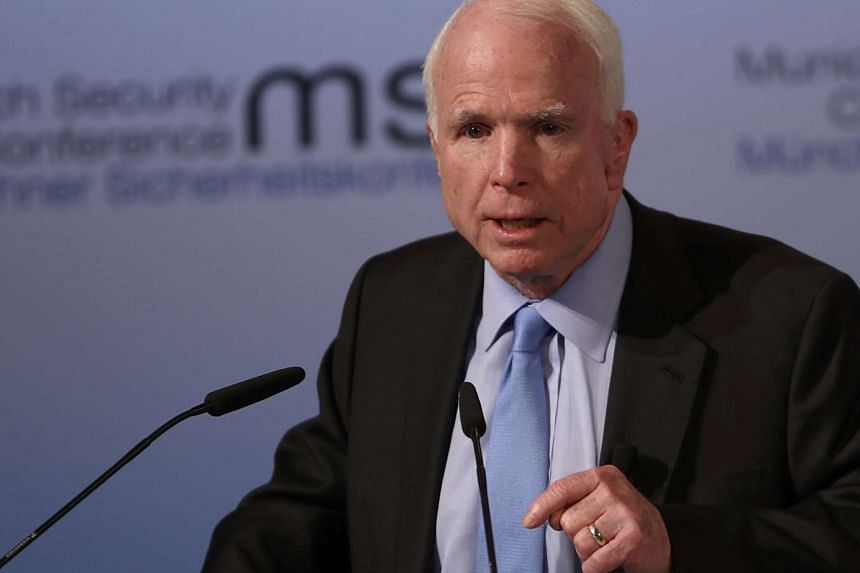 US Senator John McCain, a known Trump critic, told the Munich Security Conference that the resignation of Michael Flynn over his contacts with Russia reflected deep problems in Washington.
