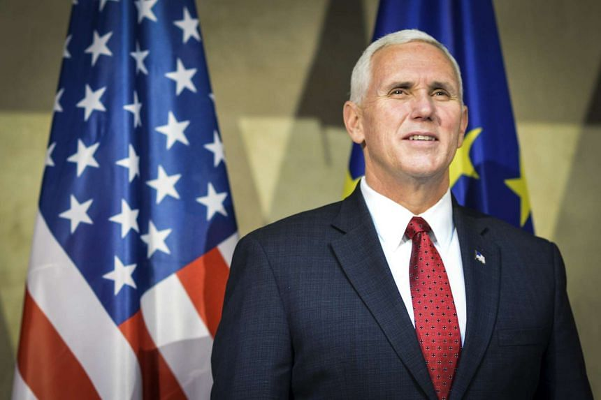 US Vice President Mike Pence at the 53rd Munich Security Conference (MSC) in Munich, Germany on Feb 18, 2017.