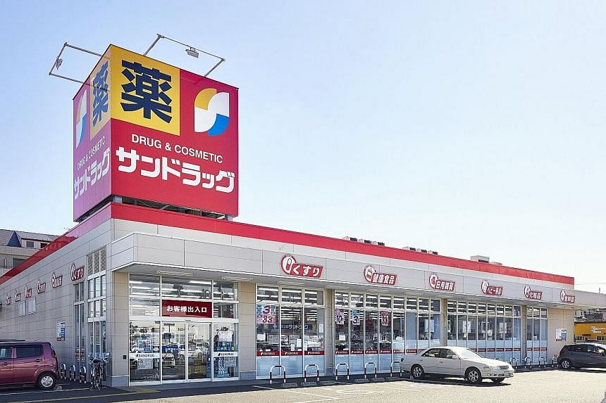 CapitaLand's acquisition of Seiyu & Sundrug mall (above) in Saitama Prefecture, north of Tokyo, will grow its retail footprint in Japan by about 25 per cent to over two million sq ft in gross floor area.