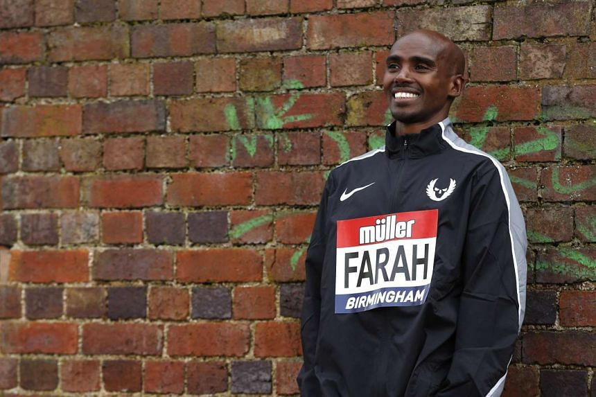 British Olympic champion Mo Farah eventually plans to turn to road racing as he continues his athletics career.