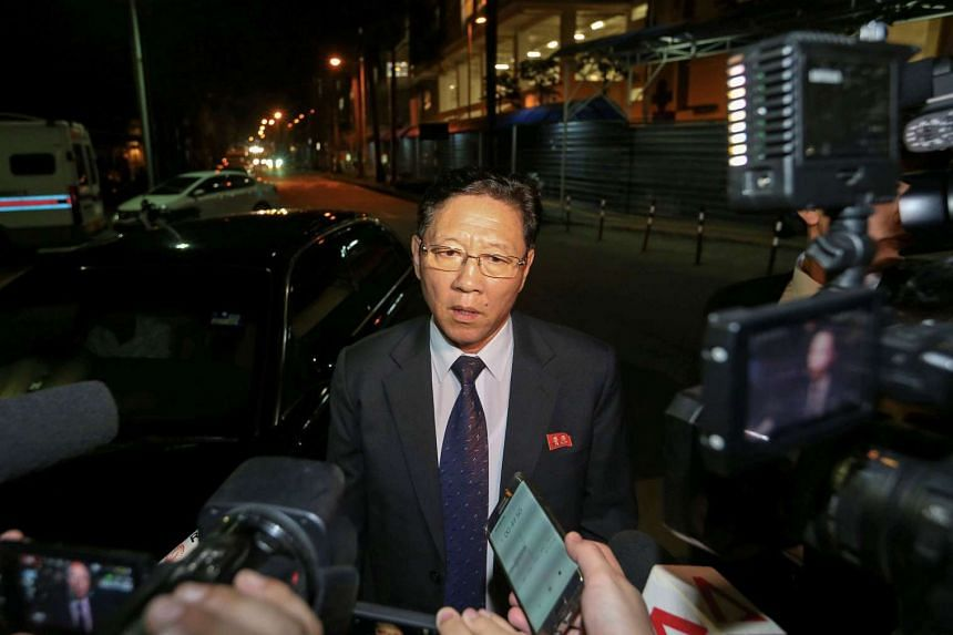 North Korea's ambassador to Malaysia, Kang Chol, met with Malaysian police, demanding the release of the body without delay but his request was rejected.