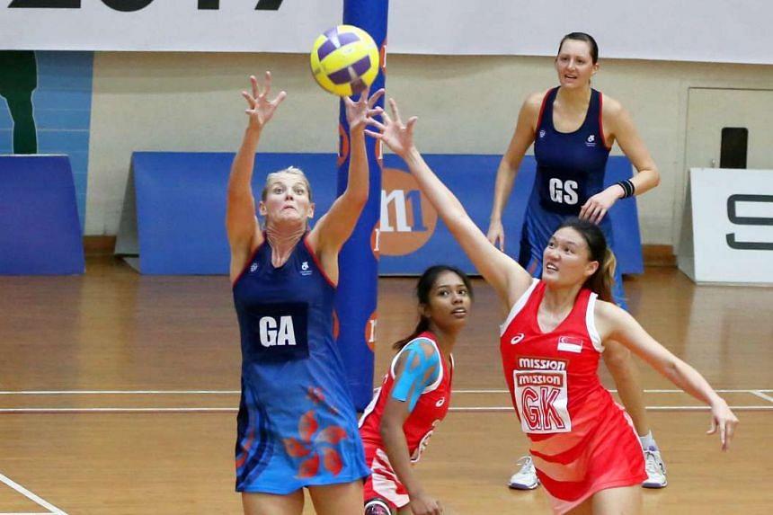 Singapore beat Hong Kong during the inaugural Hong Kong-Singapore Cup on Sunday (Feb 19).