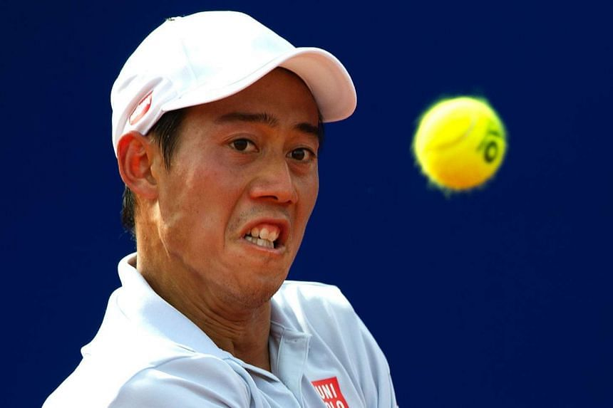 Japan's Kei Nishikori defeated Argentina's Carlos Berlocq to make it through to the final of the Argentina Open.
