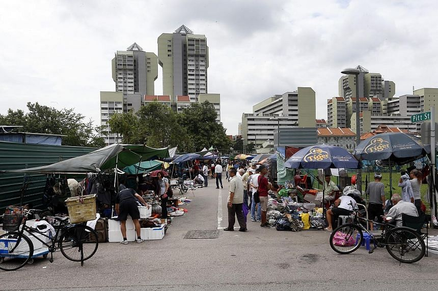 Peddlers at the flea market, which began in the 1930s as a small trading spot along Rochor River, will have to pack their wares for good after July 10.