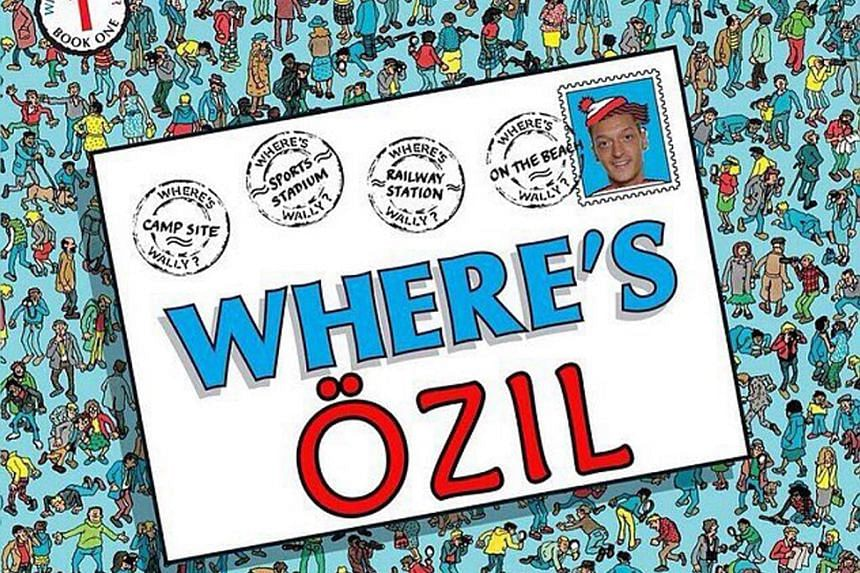 Where's Wally? Wally can't help but go missing to everyone's frustration and that's how many Arsenal fans are feeling as Ozil went missing yet again as the Gunners were routed 5-1 by Bayern Munich in the Champions League. So where's Ozil?