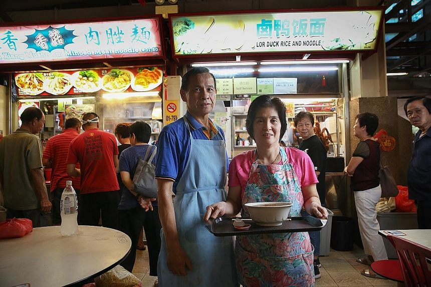Mr Tan Boon Kwang and his wife, Madam Ong Ai Ling, say their two children have no interest in taking over the stall.