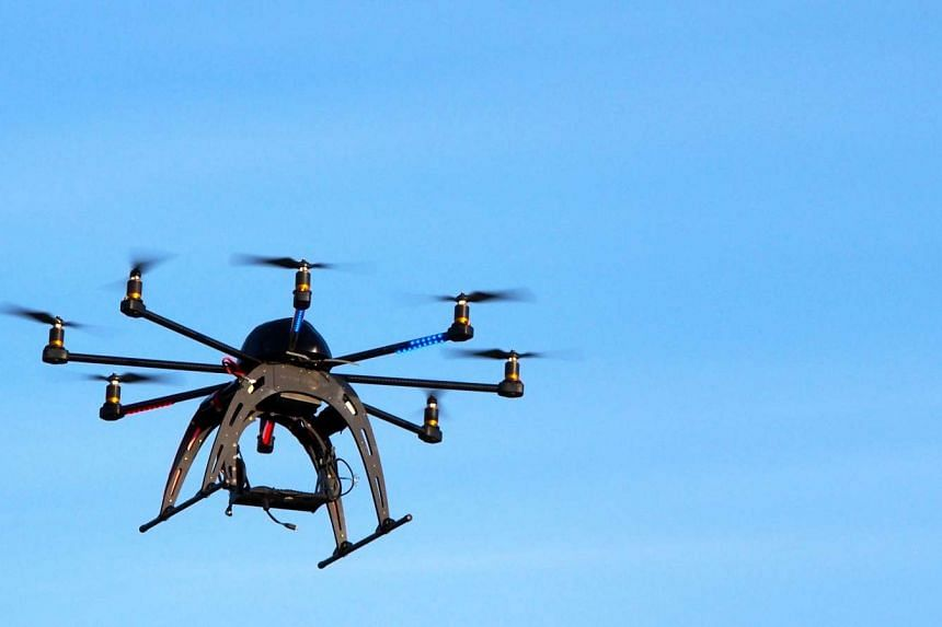 File photo of a drone. Iranian officials have banned the flying of all private drones over Tehran.