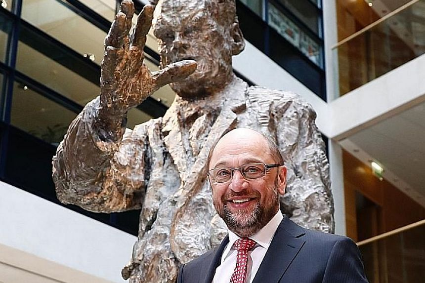 Mr Schulz has dramatically reversed the Social Democrat Party's fortunes since taking the party's top post. Crucially, he is harnessing what appeared at first glance to be personal disadvantages to appeal to the masses.