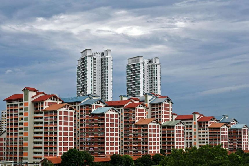HDB flats in Bishan on Jan 20, 2017.