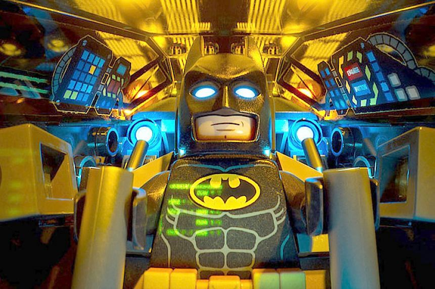 Lego Batman rules the US and Canadian box office.