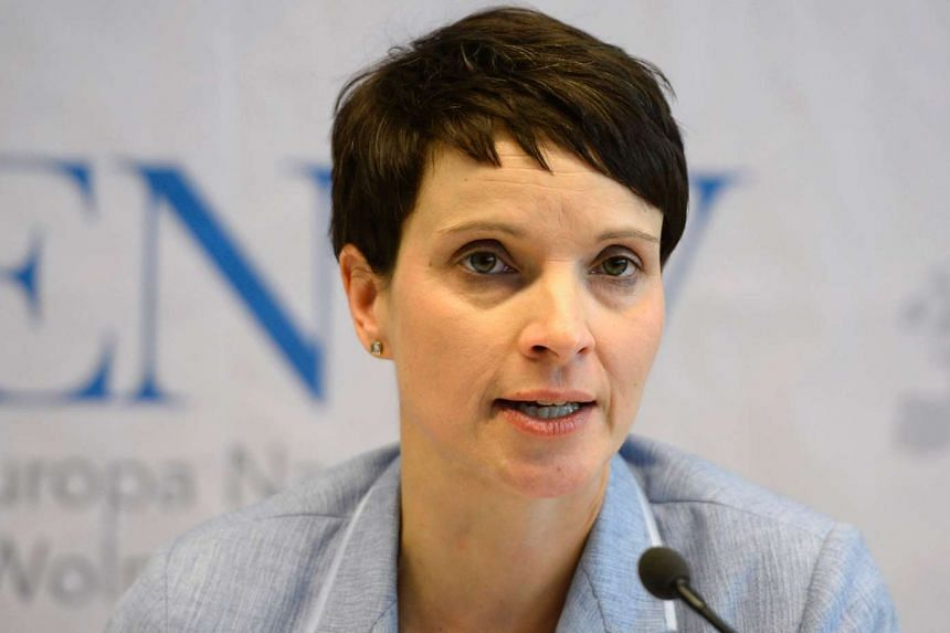Alternative for Germany (AfD) party leader Frauke Petry held talks with Russian President Vladimir Putin in Moscow.