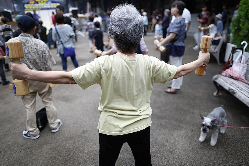 Thanks to better nutrition, health care and sanitation, today's senior citizens are much fitter than past generations, and labelling them as retirees is a waste, says one of the authors of the Japanese report.