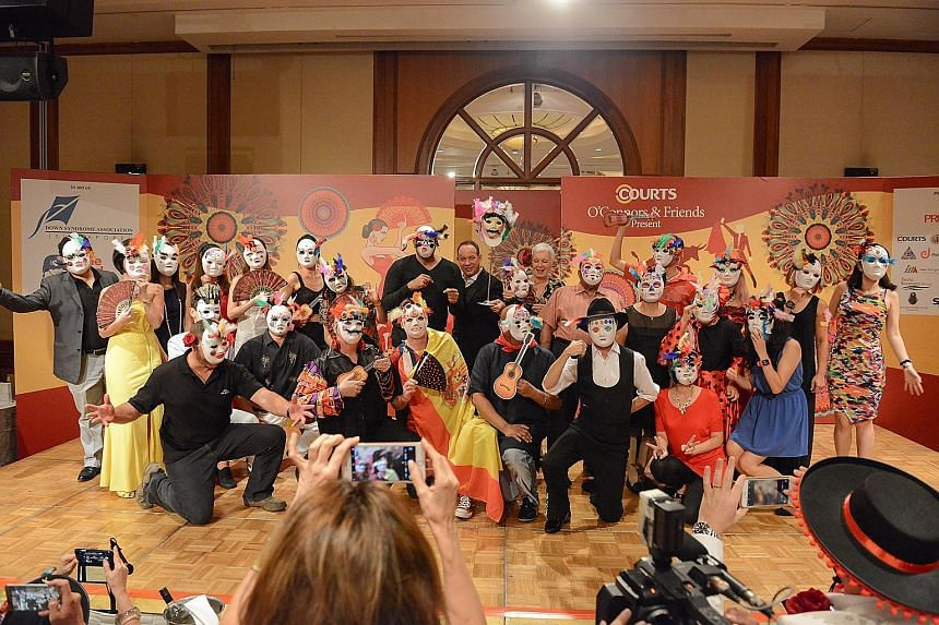 """Between golfers having fun in their game and masked party-goers enjoying a costume party, Courts Asia raised $518,000 for charity. The two """"fun raisers"""" helped Courts to make its biggest contribution in its 16 years in the Singapore philanthropy scen"""