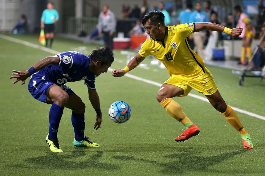 Tampines Rovers beat Felda United 2-1 in the Asian Football Confederation Cup on Feb 21, 2017.