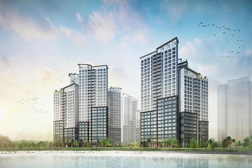 Five-room flats at Punggol Northshore Cove had the highest demand as of 5pm yesterday, with 878 applicants vying for just 170 units.