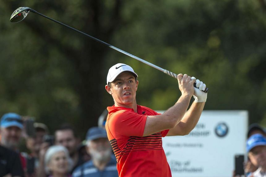 Rory McIlroy of Northern Ireland hitting a ball during the BMW South African Open, on Jan 12, 2017.