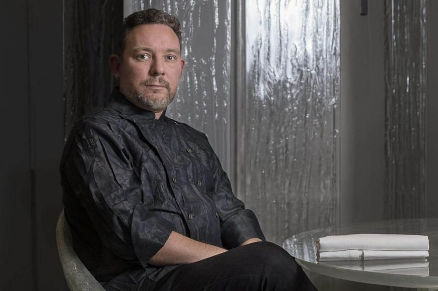 Albert Adria, an acclaimed chef, at his new restaurant Enigma in Barcelona.