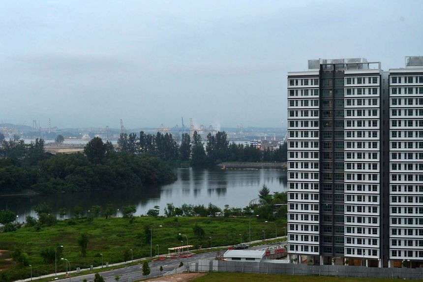File photo of Build-To-Order flats in Punggol. Under the Fresh Start Housing Scheme, families that once owned a subsidised HDB flat and now live in public rental homes enjoy priority in buying two-room flexi flats on shorter leases.