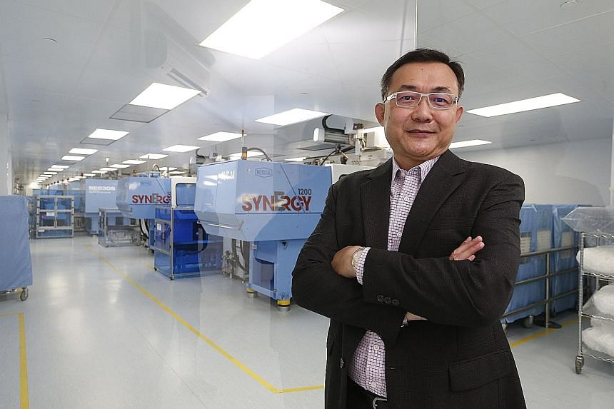 Mr Lau says Inzign has carved out a niche for itself by focusing on manufacturing exclusively for the medical device industry and supplying to start-ups.