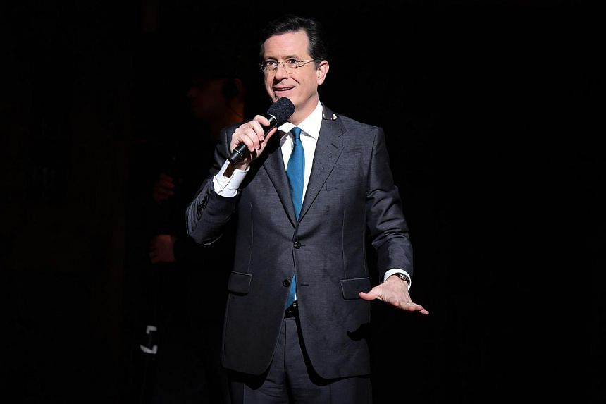 Late Show host Stephen Colbert's joke underscores a larger point: The US President has had strong words for the Islamic State, but, of late, his strongest words have been for the media.