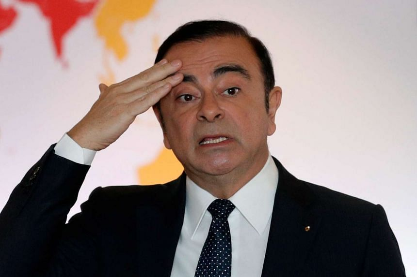 Nissan Motor said Carlos Ghosn, who has led the Japanese automaker for the past 16 years, will step aside as chief executive officer.