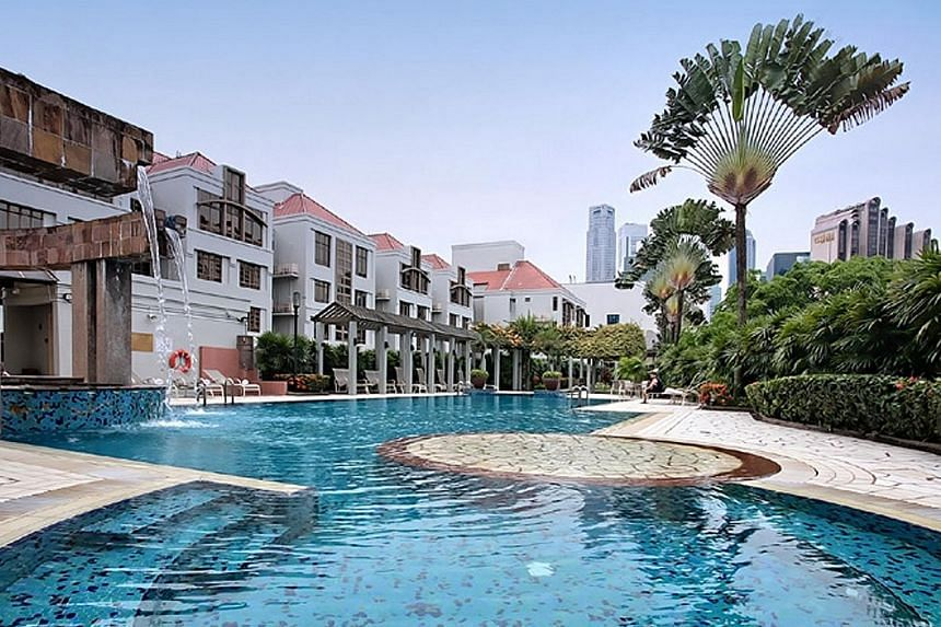 Village Residence Clarke Quay, which is part of the Far East Hospitality Trust portfolio. The drop in revenue for the Reit manager was due to lower contributions from hotels and serviced residences, and its retail and office spaces.