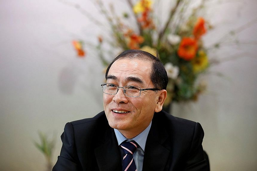 Mr Thae has been a critic of North Korea's leader since he defected to Seoul last August.