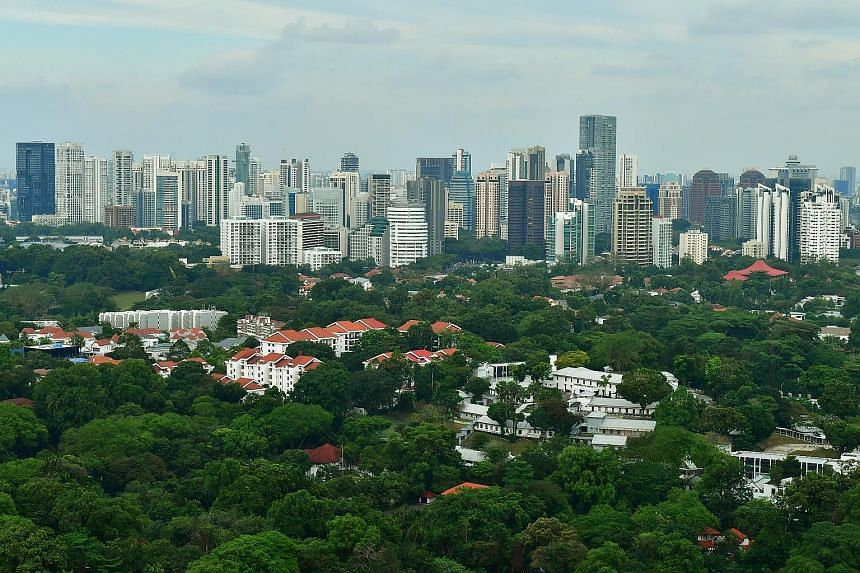 """Singapore has outshone 16 other cities in a study measuring the amount of greenery in urban areas, sealing its status as a """"City in a Garden"""". Researchers from the Massachusetts Institute of Technology and the World Economic Forum, who used data from"""