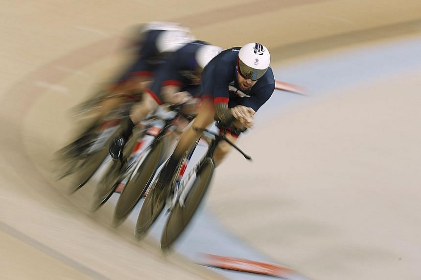 British cyclists competing in the men's team pursuit at the Rio de Janeiro Olympics. Great Britain were the most successful cycling nation at last year's Games, winning six golds. But the country's most successful and best-funded sports governing bod