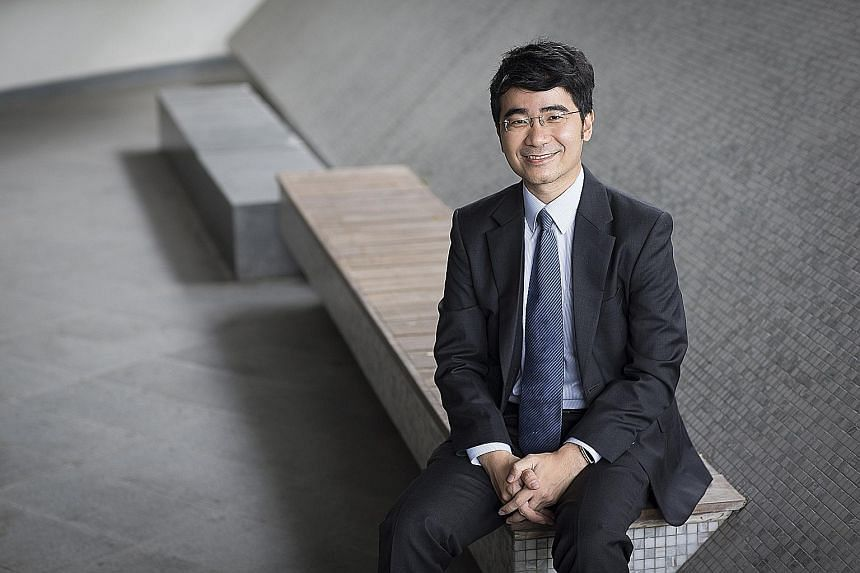 Associate Professor Goh Yihan (above), who has won six teaching awards in his eight-year teaching career and was the top law graduate at NUS in 2006, will succeed Professor Yeo Tiong Min as dean and serve a five-year term.