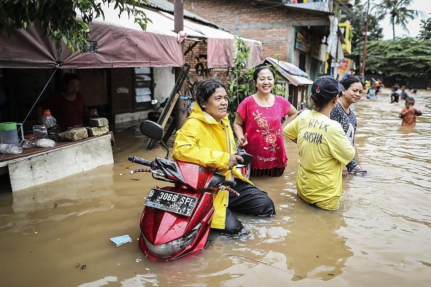 Heavy rainfall caused widespread flooding in Jakarta on Tuesday. Under the governorship of Basuki and his predecessor Joko Widodo, the city has worked to clean up rivers and relocate squatters living on the banks.