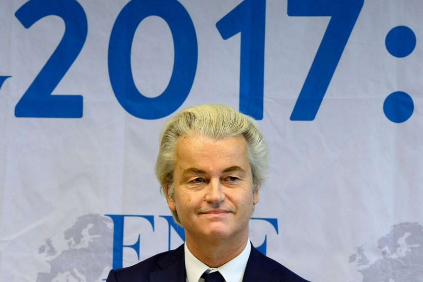 Anti-Islam Dutch MP Geert Wilders and his far-right Freedom Party suspended all public activities on Feb 23, 2017.