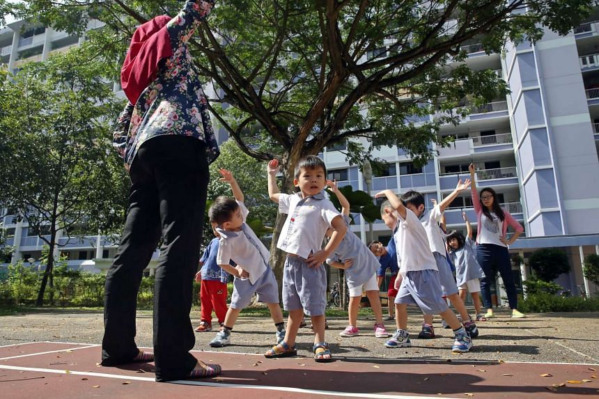 NurtureSG proposals emphasised a greater focus on physical activity, nutrition, and mental health starting from the preschool level.