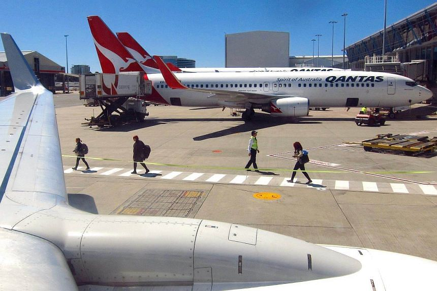 Qantas Airways, which has benefited from a cost-cutting programme and weakness at rival Virgin Australia Holdings in the domestic market, turned in its third-best result for a first-half.