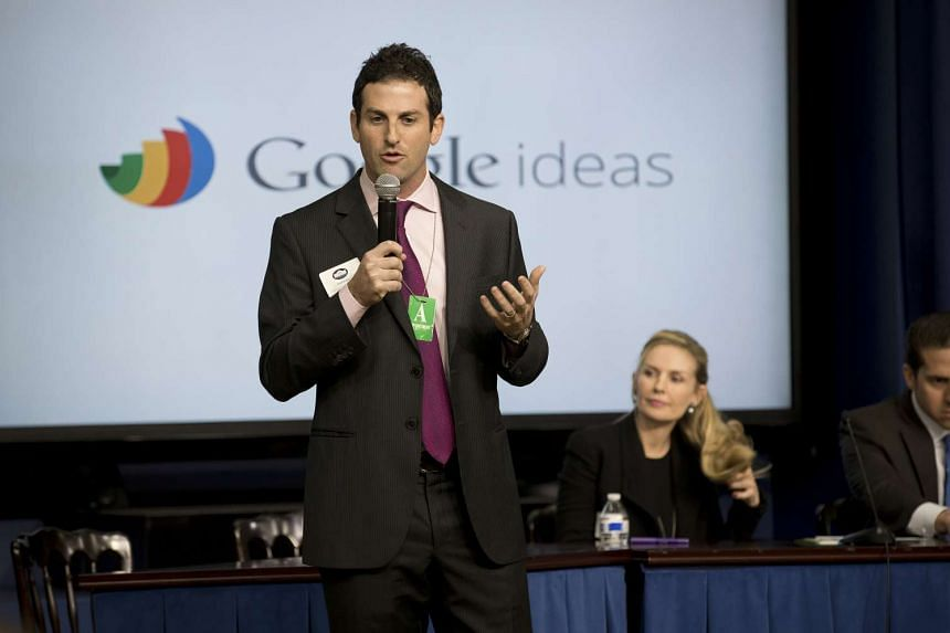 Mr Jared Cohen delivering remarks at a White House summit in Washington on Feb 18, 2015.