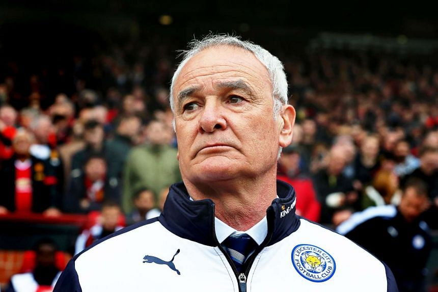 A May 2016 photo of Leicester City's Italian manager Claudio Ranieri.