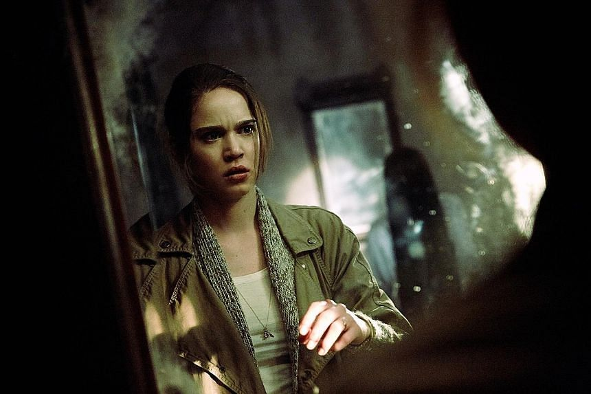 Matilda Lutz plays the girlfriend of a college student and contortionist Bonnie Morgan reprises her role as Samara the ghost from The Ring Two.
