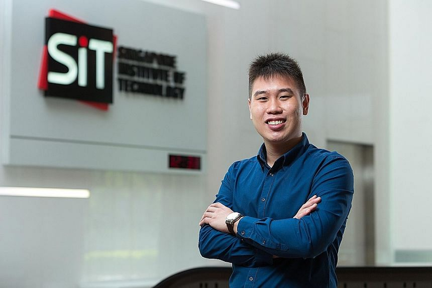 Mr Sean Ooi, who will be joining PwC Singapore as an audit associate, had earlier spent eight months with the company under SIT's Integrated Work Study Programme. SIT opened in 2009 to offer degrees to polytechnic graduates in partnership with overse
