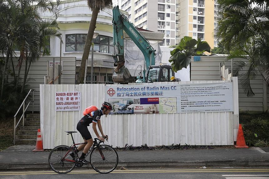 Radin Mas Community Club is among several facilities being upgraded. Other projects in the pipeline include sports facilities such as Bedok Sports Complex.