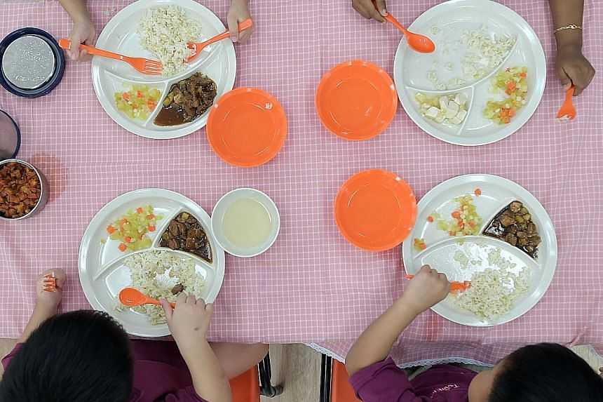 Pre-schools will no longer be allowed to serve unhealthy options like deep-fried food, and must provide balanced meals.