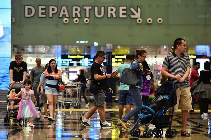 Arrivals at Singapore's Changi Airport grew 5.9 per cent last year as the airport handled a record 58.7 million passengers.
