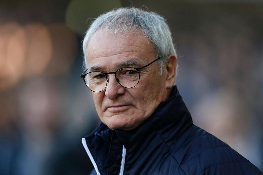 Leicester City's Italian manager Claudio Ranieri standing on the touchline during the English FA Cup fifth round football match between Millwall and Leicester City, on Feb 18, 2017.
