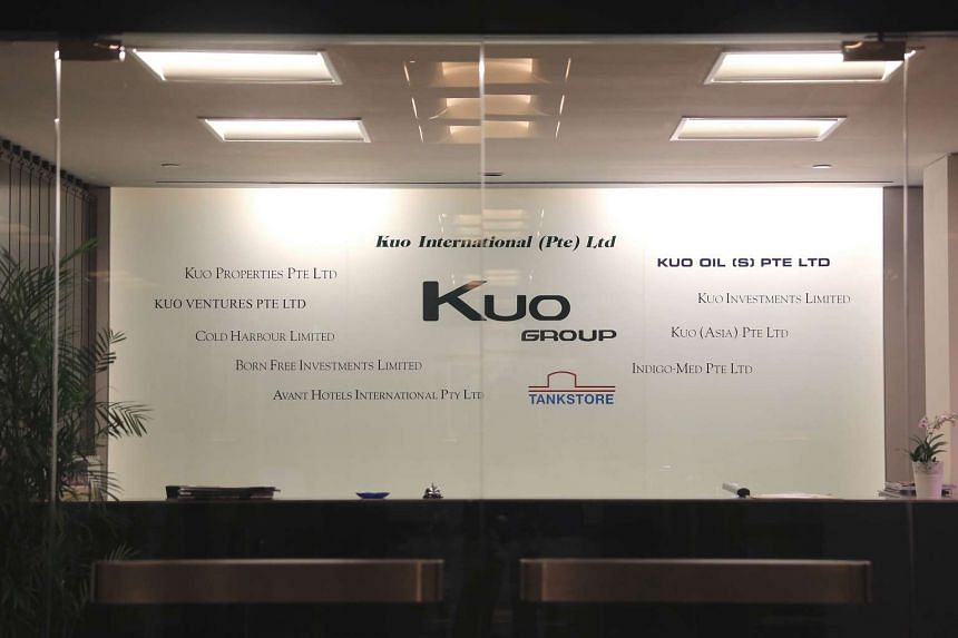 The office entrance of Kuo International at Cantonment Road.