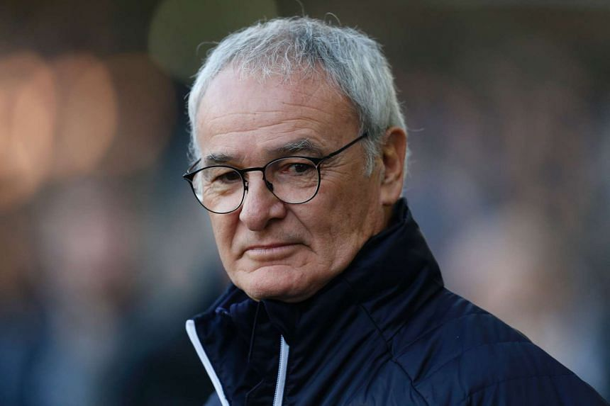 Leicester City's Italian manager Claudio Ranieri on the touchline on Feb 18, 2017.